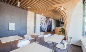 kantyna w biurowcu Studio Sante
