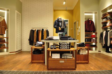 fit-out sklep odzieżowy