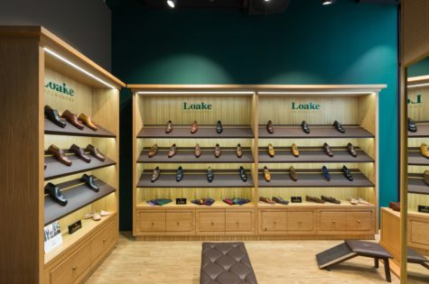 aranżacja sklepu obuwniczego