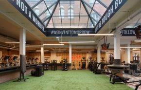 fitness w zabytkowym budynku