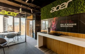 fit-out biura Acer Ocean Plaza